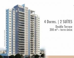 Apartamento 198m² com 4 Dormitórios no Klabin, Duet Klabin