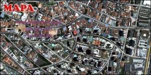 Chácara Klabin - Mapa com a localização do Apartamento Costa Esmeralda Klabin, Costa Esmeralda Klabin Edifício