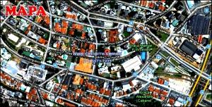 Chácara Klabin - Mapa com a localização do Apartamento Green Garden, Green Garden Klabin