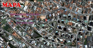 Chácara Klabin - Mapa com a localização do Apartamento Ilha de Capri, Ilha de Capri Klabin