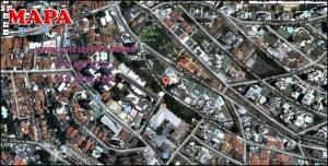 Chácara Klabin - Mapa com a localização do Apartamento Ilha de Corsega, Ilha de Corsega Klabin Edifício