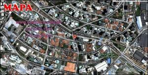 Chácara Klabin - Mapa com a localização do Apartamento Le Village, Le Village Klabin