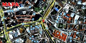 Chácara Klabin - Mapa com a localização do Apartamento Maison D Argent, Maison D Argent Klabin