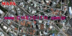 Chácara Klabin - Mapa com a localização do Apartamento Maison Lacanau, Maison Lacanau Klabin