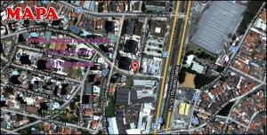 Chácara Klabin - Mapa com a localização do Apartamento Missouri, Missouri Klabin