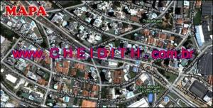 Chácara Klabin - Mapa com a localização do Apartamento New Life, New Life Klabin Condomínio