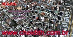 Chácara Klabin - Mapa com a localização do Apartamento Porto de Marselha, Porto de Marselha Klabin