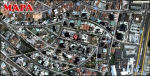 Chácara Klabin - Mapa com a localização do Apartamento Porto de Nice, Porto de Nice