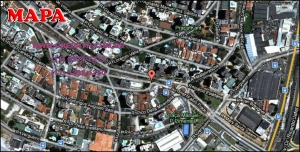 Chácara Klabin - Mapa com a localização do Apartamento Thelma, Thelma